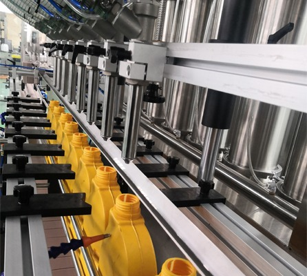 100 - 5000 ml Liquid Soap Filling Machine Grease Filling Line