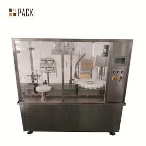 10g-100g Lotion Cream Jar Filling And Capping Machine For Cosmetics Industry