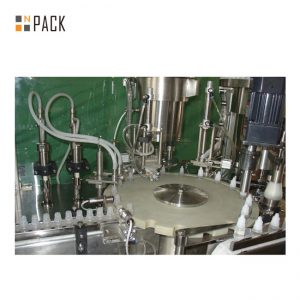 Chemicals Bottle Filling Line
