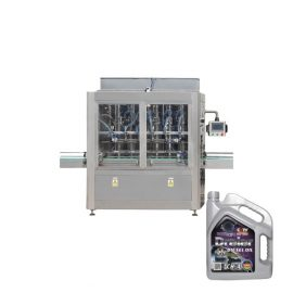 1l-5l 4 Heads Piston Lubricating Oil Electric Automatic Liquid Filling Machine for Bottle