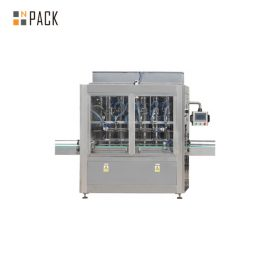 Agro Chemical Bottle Filling Line / Stable Performance Pharmaceutical Liquid Filling Machines Line