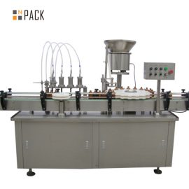 5-100ML Vacuum Perfume Filling And Capping Machine Large Capacity With Valve Placer
