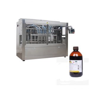 Veterinary Medicine Liquid Bottle Filling Line / Corrosive Liquid Filling Machine Line