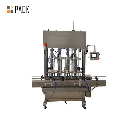 500ml-5L 12 Head Automatic Fertilizer Liquid Gravity Filling Machine