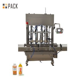 10 Head Paste Filling Machine Wide Filling Range For Low / High Viscosity Fluids