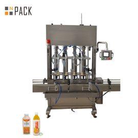 10 Head Paste Filling Machine Wide Filling Range For Low / High Viscosity Fluids