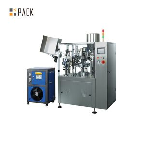 Plastic Metal Paste Cream Tube Filling and Sealing Machine