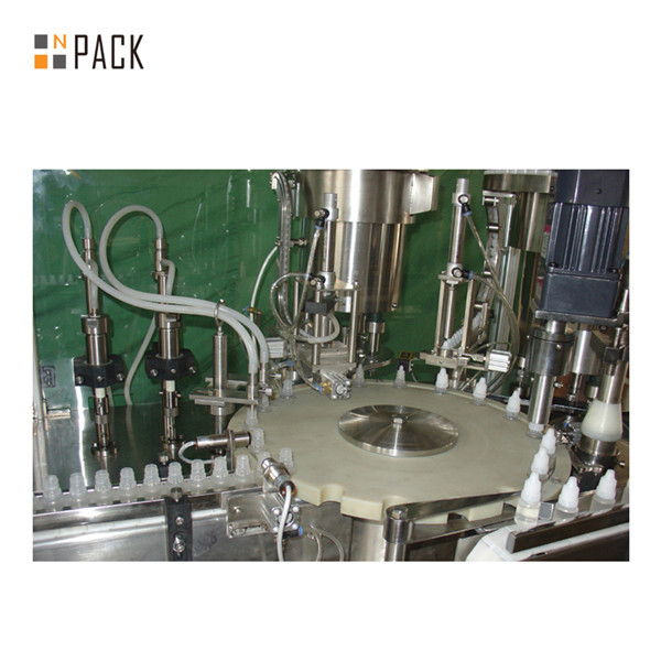 Automatic Linear Vial Bottle Filling Machine with Peristaltic Pump Filling