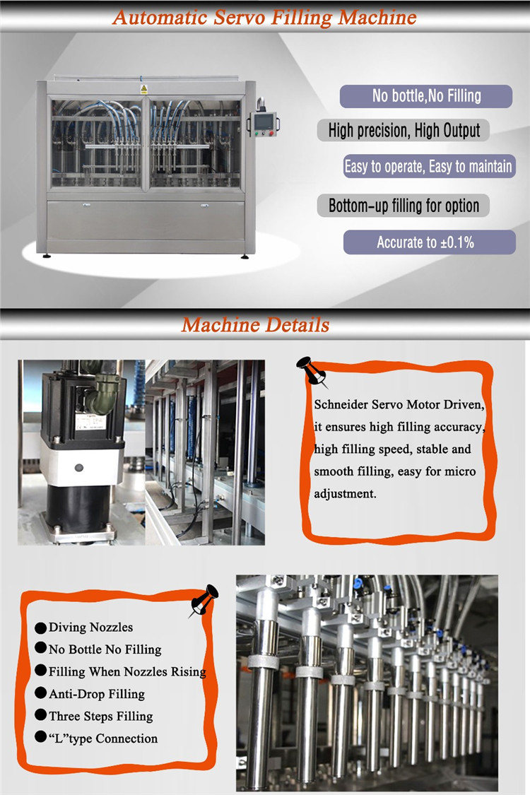 Auto Liquid Bottle Filling Machine