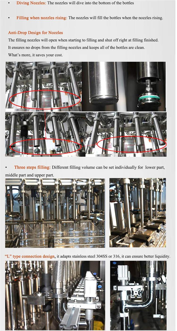 Automatic Hand Sanitizer Wash Liquid Soap Body Lotion Shampoo Bottle Filling Machine