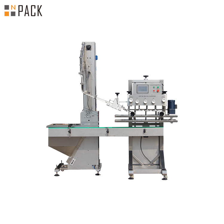 Rotary Shampoo Bottle Capping Machine