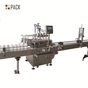 6.5kw Power Automatic Liquid Filling Line 20 - 50 Bottles / Min Capacity