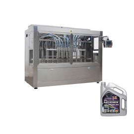 High Speed Automated Bottle Filling Machine Anti Drop Oil Bottling