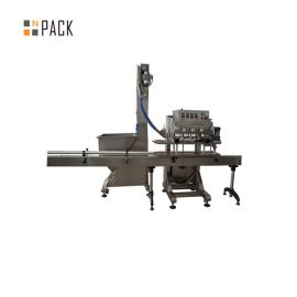 PLC Control Single Head Rotary Capping Machine 50 CPM Speed With Servo Motor Driven