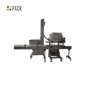 Wash Liquid Inline Bottle Capping Machine 200 CPM With Heavy Duty Frame
