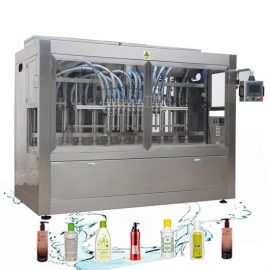 Corrosion Resistant Automatic Liquid Filling Line Laundry Detergent Filling Machine