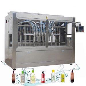 Corrosion Resistant Automatic Liquid Filling Line Laundry Detergent Filling Machine