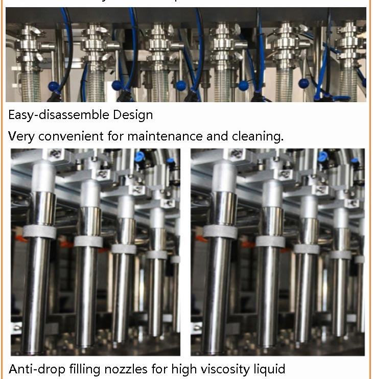 Automatic Honey Glass Bottling Filling Capping and Packing Machine