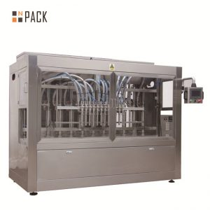 Piston Servo Filling Machine / Fully Automatic Linear Filling Machine With Drop Down System