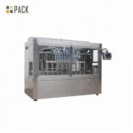 12 Heads Piston Filling Machine Servo Filling Machine 50BPM Filling Speed