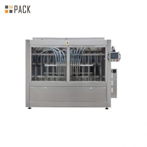 100ml - 1L Automatic Liquid Bottle Filling Machine , Clorox / Bleach / Acid Filling Machine