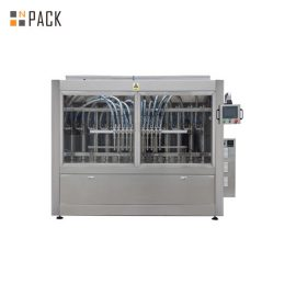 PLC Control Automatic Paste Filling Machine For 250ML-5L Liquid Soap / Lotion / Shampoo