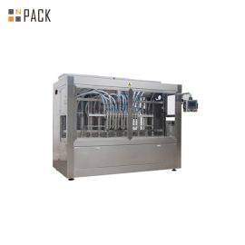 Metal Liquid Bottle Filling Machine / Hair Gel Bottle Filling And Capping Machine