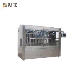 16 Nozzles Automatic Linear Liquid Filling Machine , Plastic Bottle filling machine