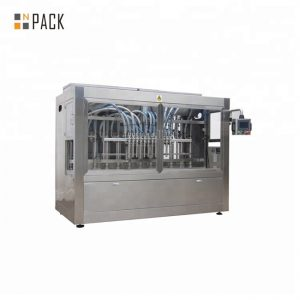 Face Cream Jar Filling Line / Paste Piston Filling Machine Line With Touch Screen Control