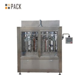 Net Weigh 6 Head Liquid Filling Machine For Pesticide Chemicals And Fertilizer