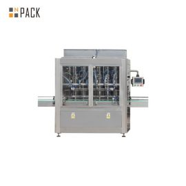 1L-5L Edible Oil Filling Line With Servo Filling Machine, Sleeve Wrapper Shrink Machine