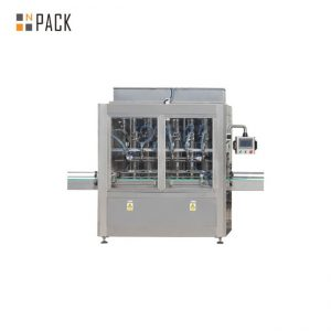 Stable Running Bottle Filling Line Cosmetic Cream Filling Machine With Capping