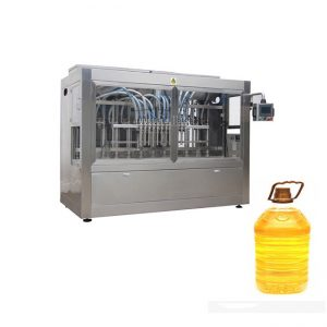Industrial Automatic Liquid Filling Line With Piston Filling Machine And Automatic Bottle Labeler