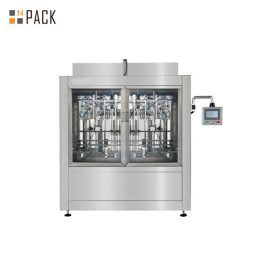 Automatic Linear Baby Food Paste Filling Machine With Servo Driven Pump