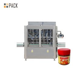 Abrasion Resistance Sauce Filling Machine Jam Filling Machine 304 Stainless Steel