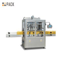 8 Heads Dishwashing Piston Filling Machine With Servo Filler 3000 B/H Large Capacity