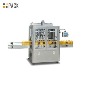 8 Heads Dishwashing Piston Filling Machine With Servo Filler 3000 B/H Large Capacity