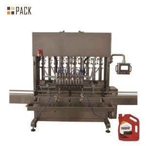 Electric Liquid Bottle Filling Line Large Filling Volume For Foaming Detergent Cleaner