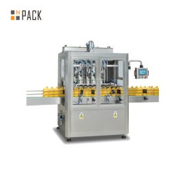 Easy Maintenance Paste Filling Machine / 6 Head Filling Machine For Shampoo