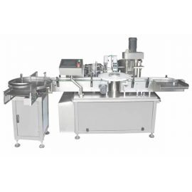 Full Automatic Vial Glass / Plastic Bottle Filling And Capping Machine 3ml-120ml