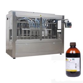 Fully Automatic Pesticide Bottle Filling Line Machine