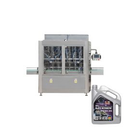 High Efficiency Bottle Filling Line 500ML – 5L Lubricating Oil Filling Line