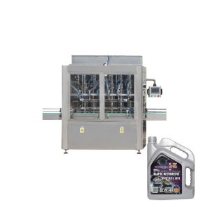 High Efficiency Bottle Filling Line 500ML - 5L Lubricating Oil Filling Line
