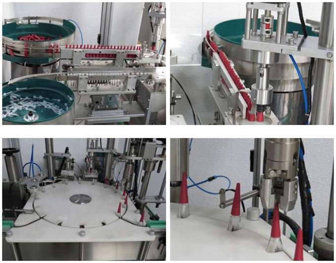 High Reliability Nail Polish Filling Machine / Monoblock Filling Machine Capacity 60BPM