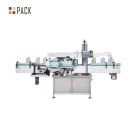 Automatic Rotary High Speed Bottle Labeling Machine Capacity 300 BPM With Servo Driven