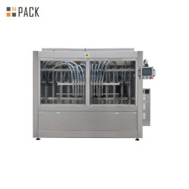Turnkey Automatic Linear 2 to 24 Heads Bottle Tomato Paste Liquid Filling Machine