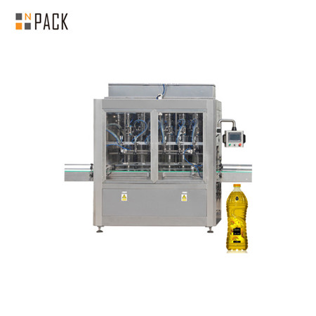 Liner Pet Bottle Viscous Liquid Engine Edible Oil Filling Packaging Machinery