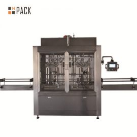 Automatic Liquid Paste Jam Oil Packing Filling Machine
