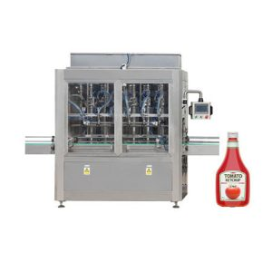 Automatic Viscosity Paste Honey Oil Tomato Sauce Paste Liquid Filling Machine