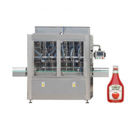 Ketchup and Olive Oil Filling Machine with Piston Type